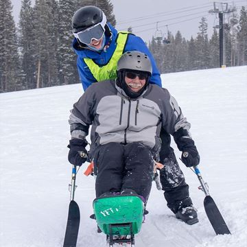 Picture of Veterans Rocky Mountain Adventure - Sit Ski