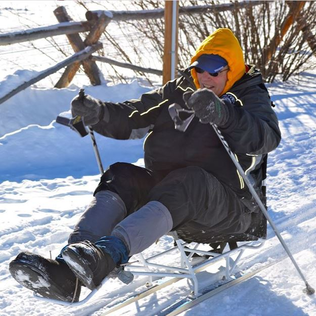 Picture of Nordic Weekly Group Lesson - Sit Ski