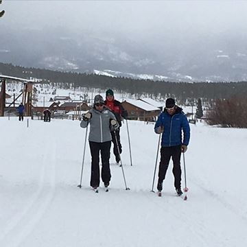 Picture of Nordic Weekly Group Lesson - Stand Ski