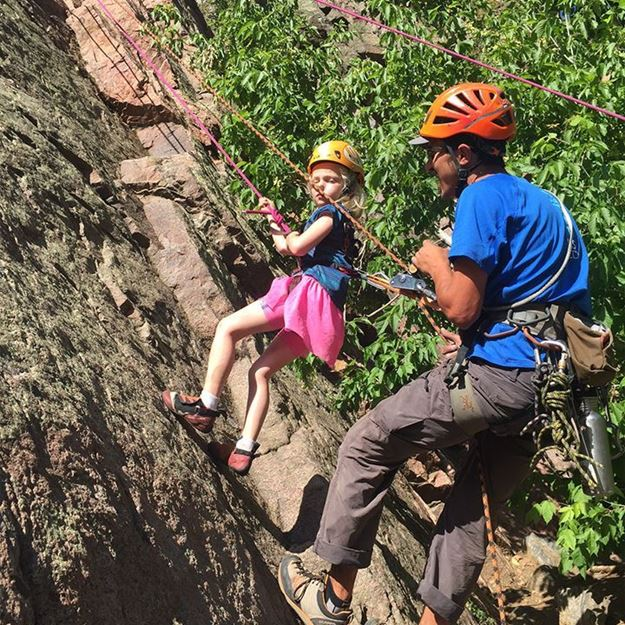 Picture of Individual Rock Climbing
