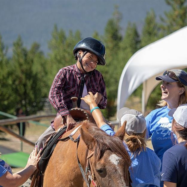 Picture of Therapeutic Horseback Riding  - 3 Day Camp
