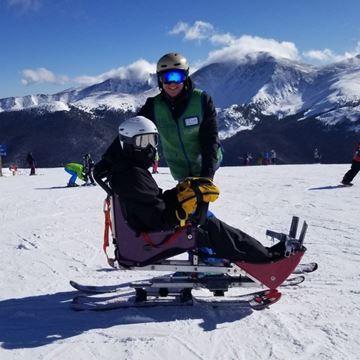 Picture of Alpine Individual - Sit Ski Full Day