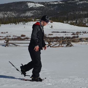 Picture of Alpine Individual Snowshoe - Full Day