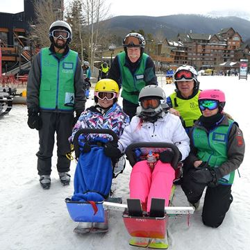 Picture of Alpine Family Sit Ski - Full Day